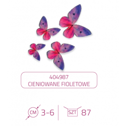 Motylki waflowe - 87 szt....