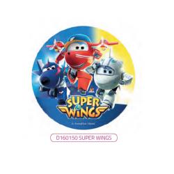 Super Wings - opłatek na...
