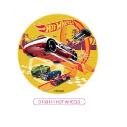 Hot Wheels - opłatek na...
