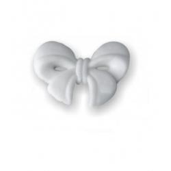 Kokardki malutkie białe -...