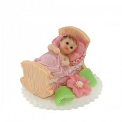 Bobas w łóżeczku różowy -...