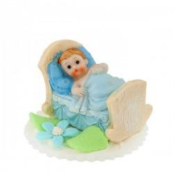 Bobas w łóżeczku niebieski...