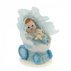 Bobas w wózeczku niebieski...