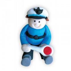 Figurka cukrowa Policjant...