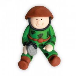 Figurka cukrowa Żołnierz...