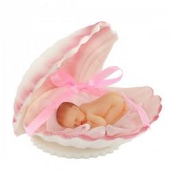 Bobas w muszelce różowy -...