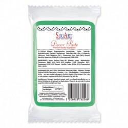 Masa cukrowa - zielona - 250 g