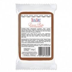 Masa cukrowa - brązowa - 250 g
