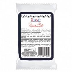 Masa cukrowa - czarna - 250 g
