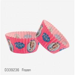 Papilotki Frozen - 50 szt.