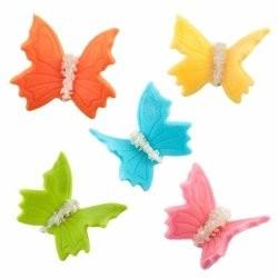 Motylki duże cukrowe - 5...