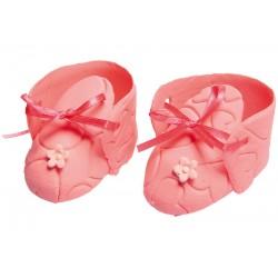 Para bucików różowych z...