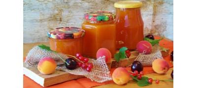 Marmolady, jabłka, dżemy, powidła